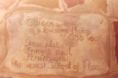 Garden Inscription